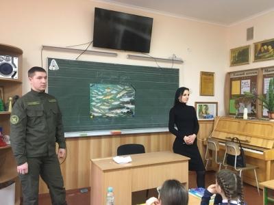 Рівненський рибоохоронний патруль провів зустріч зі школярами