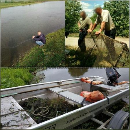За сім днів викрито 16 правопорушень, - Рівненський рибоохоронний патруль