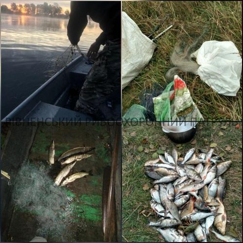 За тиждень порушники завдали понад 20 тис. грн збитків, - Рівненський рибоохоронний патруль