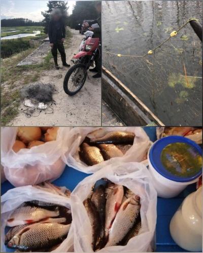 Протягом тижня на Рівненщині викрито 44 порушення правил рибальства